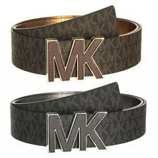 Michael Kors Senhoras 553504 Couro Sintético MK logotipo Signature Cinto