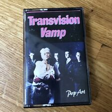 TRANSVISION VAMP POP ART CASSETTE TAPE MCA Records 1988
