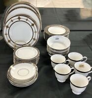 55 pc NEW Lenox Vintage Jewel China-Dinner Accent Salad Bread Appetizer Plate