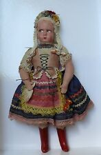 Antique Hungarian Doll