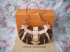 100% Autentico Vuitton Limited Edizione Louis Monogram Borsa di tela Leonor