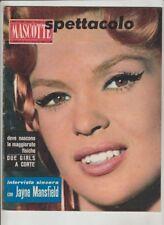 Mascotte,n°11/1960 Cinema,Claudia Cardinale,Marilyn Monroe,E.Martin  [g31]