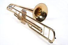 BB VALVOLA trombone INCL. VALIGIA + boccaglio. NUOVO! ORIGINALE Karl Glaser, B-Ware
