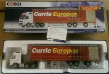 Corgi CC14040 Volvo FH Super Trailer Currie European Dumfries Ltd Ed 750 of 750