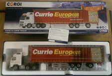 Corgi CC14040 VOLVO FH Super Trailer Currie European Dumfries Scotland 1 50
