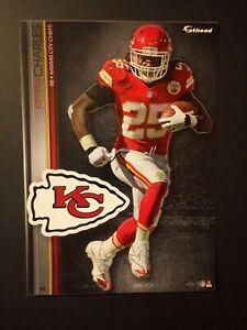 NFL Kansas City Chiefs Jamaal Charles Fathead Decal Tradeables