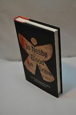 Joe Nesbo ~ Blood On The Snow ~ 1st Edition / 1st Printing ~ Hardcover DJ