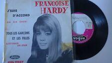 """Françoise Hardy """"Tous les garçons et les filles"""" Ep original France 1963"""