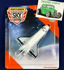 Matchbox - Space Shuttle Orbiter - SPACE CARD - Skybusters Diecast  1:64 Scale