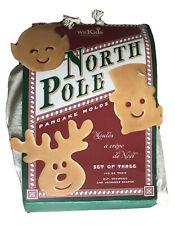 Williams Sonoma North Pole Pancake Molds Set of 3 NIB
