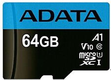 Adata 64GB Micro SDXC Class 10 85MB/s Class A1 Fit For Nintendo Switch Console