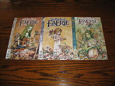 DC - THE BOOKS OF FAERIE 1 - 3  Complete Set!! Glossy VF 1997