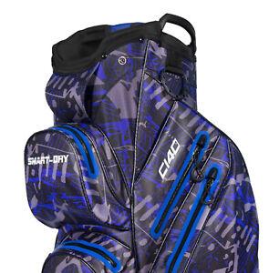RADAR C140 Smart dry 100% Waterproof Golf Cart Bag Ultralightweight - blue