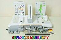 Nintendo Wii White Console Bundle, Balance Board, Wii Play & Wii Fit ~ FREE P+P