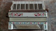 Bonvicini WWII-Era Accordion - 41 treble/piano, 120 bass (chord) - Orig. Case
