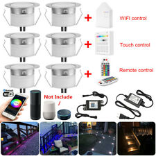 Smart Wifi Bluetooth 45mm Rgb/Rgbw Led Deck Patio Stair Step Soffit up Lights