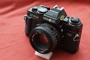 Minolta X 700 Black + 50 mm F 2  MD
