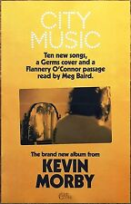KEVIN MORBY City Music 2017 New RARE Poster +FREE Folk Rock Indie Alt Poster!