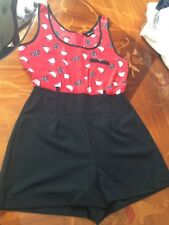 Ladies shorts size 8 All In One suit BY Intercionale . Excellent condition.