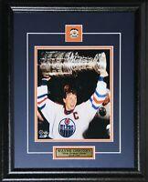 Wayne Gretzky Edmonton Oilers Stanley Cup NHL Hockey Memorabilia 8x10 Frame