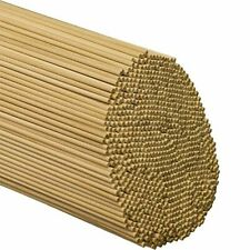 Dowel Rods Wood Sticks 1/8 Inch X 12 Inches 100 Pieces Woodpeckers Wooden Dowel