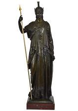 Sculpture Athena 56cm. kaminuhr empire bronze clock antike uhren antique pendule