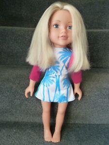 Chad Valley Design A Friend Doll Blonde Hair !