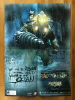 Official Bioshock 2 Xbox 360 PS3 PC 2010 Poster Little Sister Subject Delta Art