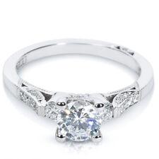 BRAND NEW Tacori Diamond Engagement Ring Setting in Platinum 2590 RD 5.5 1/5 CTW