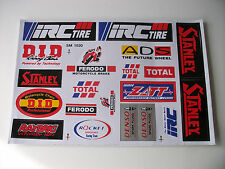 New *20* Sticker Kit Universal Motocross Decals Cbr Vtr Cr Yz Kx Sxf Dr Rm Rmz