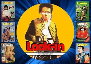 Look-In magazines On PC DVD Rom (CBR FORMAT)