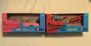 NEW Corgi Thunderbirds Classics: Thunderbirds No.1 & No.3 and FAB 1 models