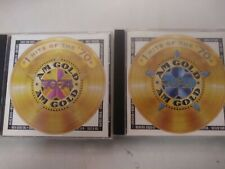 AM Gold: #1 Hits Of The '70s - 1970 -1974, and 1985 - 1979 rare oop both cd