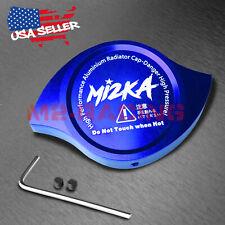 Blue Billet Aluminum Radiator Protector Pressure Cap Cover Car High Performance