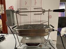 Vintage Farberware Open Hearth Electric Broiler Rotisserie Stainless Steel 445