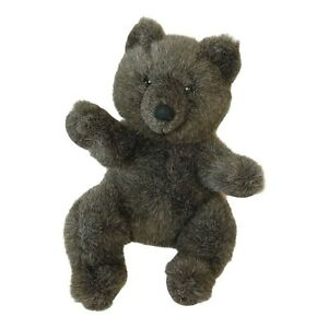"Applause Bravo Vintage 1988 Teddy Bear Roosevelt Plush Toy Brown 13"""