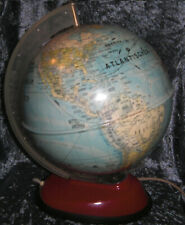 alter Kinderglobus space age mid century modern globe design 50s 60s Weltkugel