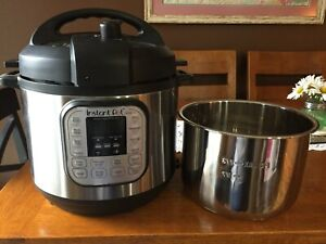 Instant Pot IP-DUO60 V3 6-Qt 7-in-1 Multi-Use Programmable Pressure Cooker