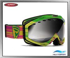 Alpina Cybric HM gelb multicolor Skibrille