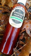 Uwharrie Soap Beard Wash Wintergreen NEW LOWER PRICE!! Free Shipping!