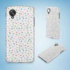 RAINBOW DOTS CIRCLE PATTERN 52 HARD PHONE CASE COVER FOR NEXUS 5 5X 6 6P