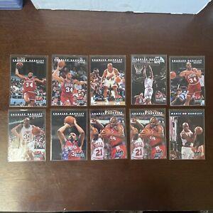 1992 Skybox Basketball Lot of 10 CHARLES BARKLEY USA Basketball Cards Dream Team