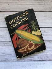 Vintage Outdoor Cooking Cookbook 1940's Camping Bbq Recipes Wwii Era Wife