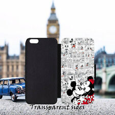 DISNEY Minnie & Mickey Comic Leather Flip Wallet Phone Case