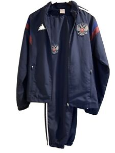 adidas Climacool Track Suit Brazil World Cup Russian Team Jacket & Bottom-Small