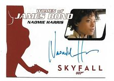 James Bond Archives Final Edition Autograph Naomie Harris as Moneypenny WA54