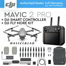 "DJI MAVIC 2 PRO w/ DJI SMART REMOTE CONTROLLER 5.5"" HD DISPLAY + FLY MORE KIT"