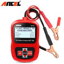 12V Load Battery Tester Digital Car Battery Analyzer Multi Language Ancel BST200