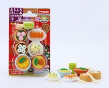 Food Iwako Japanese Eraser Chinese Foods Gift Card Set #38338