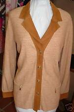 ESCADA KNITTED JACKET CARDIGAN 42$1850 LUXARY!!!